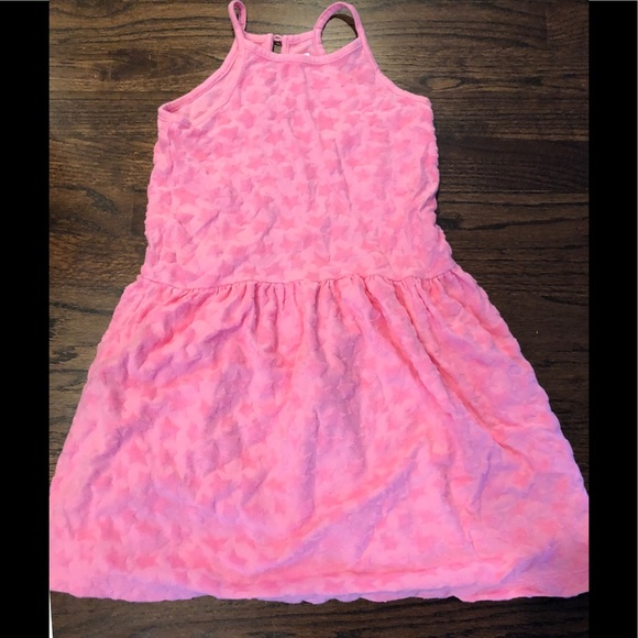 f3f721e086 Gap kids pink terry cloth cover up dress